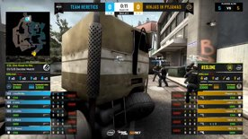 CS:GO- Ninjas in Pyjamas vs. Heretics [Overpass] Map 2 - ESL One:Road to Rio -  3rd/4th decider - EU