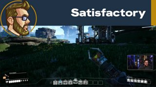 Checking out Satisfactory [Day 1] | !MCU !jpedia | Twitter: @DroppedFrames @itmeJP @WhiskeySweet @MCUCrew