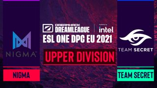 Dota2 - Team Secret vs. Nigma - Game 2 - DreamLeague Season 14 DPC: EU - Upper Division