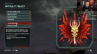 Elajjaz plays DOOM Eternal (DLC part 4)