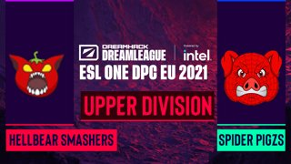 Dota2 - Hellbear Smashers vs. Spider Pigzs - Game 1 - DreamLeague Season 14 DPC: EU - Lower Division