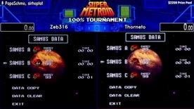 Zeb316 vs Thorneto. Super Metroid 100% Tournament 2020.