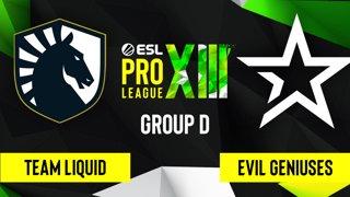 CS:GO - Evil Geniuses vs. Team Liquid [Inferno] Map 1 - ESL Pro League Season 13 - Group D