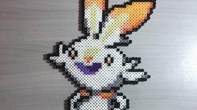 Perler Beads: Scorbunny, Pokemon #???