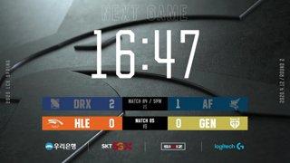 DRX vs. AF - HLE vs. GEN [2020 LCK Spring Split]