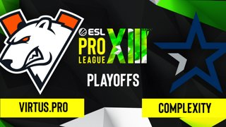 CS:GO - Virtus.pro vs. Complexity [Mirage] Map 1 - ESL Pro League Season 13 - Playoffs