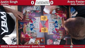 ARGCS Summer Invitational 2017 Grand Finals Justin Singh vs Avery Foster