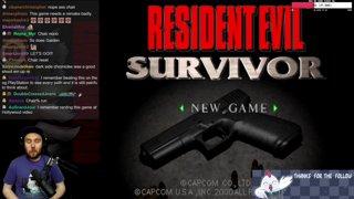 Resident Evil Story/Review - Resident Evil Survivor