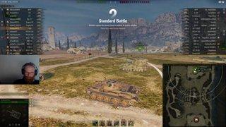 T-62A - Ace - Abbey med pushande motståndare