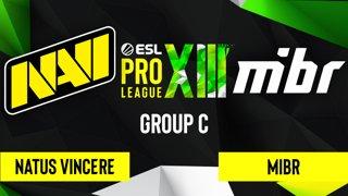 CS:GO - Natus Vincere vs. MIBR [Mirage] Map 1 - ESL Pro League Season 13 - Group C