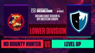 Dota2 - No Bounty Hunter vs. Level UP - Game 1 - DreamLeague S15 DPC WEU - Lower Division