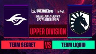 Dota2 - Team Secret vs. Team Liquid - Game 1 - DreamLeague S15 DPC WEU - Upper Division