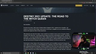 bungie witch queen update and twab