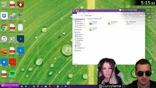 Lois and guest Curvyllama call the virus scammers for a chat