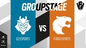 G2 Esports VS FURIA Esports // SIX INVITATIONAL 2021 – Group stage – Day 1