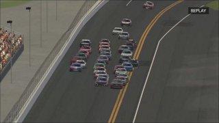 Bowlin goes for a ride in Daytona finish