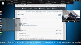 Un hacker en train de hacker : CTF Bob 1.0.1