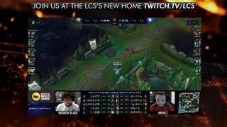 LCS Playoffs - Lower Bracket Finals: Team Liquid vs. TSM