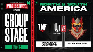INF.UESPORTS vs D2 Hustlers Game 2 - BTS Pro Series 8 AM: Group Stage w/ rkryptic & neph