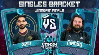 Zain vs Mang0 - Singles Bracket: Winners' Finals - Smash Summit 10 | Marth vs Falco