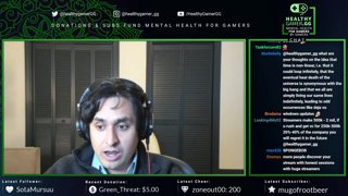Highlight: Interview with @Gorgc, Meditation / Q&A after || !discord !questions !guest