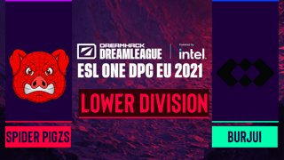 Dota2 - Spider Pigzs vs. burjui - Game 1 - DreamLeague Season 14 DPC: EU - Lower Division