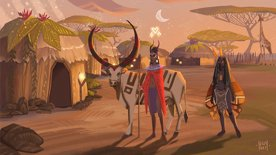 Highlight: THE GAMESWEEKBERLIN is playing #DevBooster. Wagadu Chronicles
