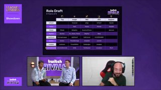 Twitch Rivals: League of Legends Team Draft