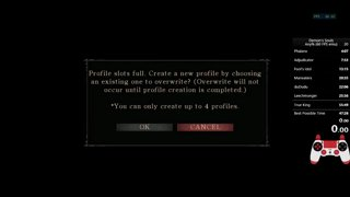 Demon's Souls Any% emu 60 FPS (52:11 IGT)