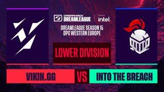 Dota2 - Vikin.gg vs. Into The Breach - Game 1 - DreamLeague S15 DPC WEU - Lower Division