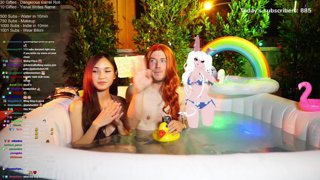 THE ONE TRUE HOT TUB STREAM OF 2021 - Follow @jakenbakeLIVE on !Socials