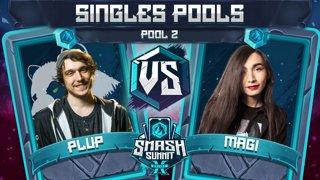 Plup vs Magi - Singles Pools: Pool 2 - Smash Summit 10 | Fox vs Falco