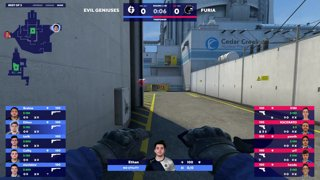 Highlight: Lower Bracket Rd 1 EG vs Furia Map 3 Nuke