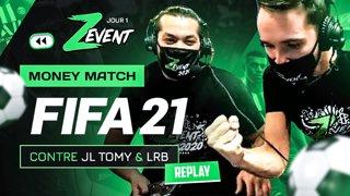 J'affronte SAKOR ET JLTOMY sur FIFA 21 au #ZEVENT2020 !