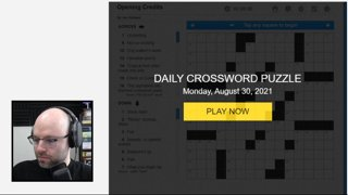 When the theme just makes you upset (Crosswords)