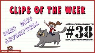 Clips Of The Week #38 - Herp Derp Adventures