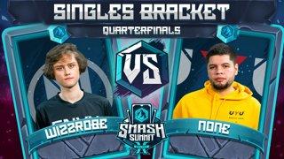 Wizzrobe vs n0ne - Singles Bracket: Quarterfinals - Smash Summit 10 | Cpt Falcon vs Cpt Falcon