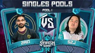 Zain vs S2J - Singles Pools: Pool 1 - Smash Summit 10 | Marth vs Captain Falcon