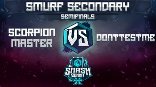 Scorpion Master vs DontTestMe - Smurf Secondary: Semifinals - Smash Summit 10 | Mario vs Roy
