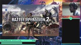 Gundam Battle Operation 2 | a quick stream before work