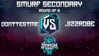 DontTestMe vs Jizzrobe - Smurf Secondary: Round of 8 - Smash Summit 10 | Roy vs Captain Falcon
