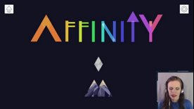 Highlight: Affinity, a super chill, pretty puzzle game!