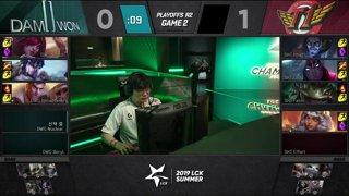 DWG vs. SKT | Playoffs Semifinals | LCK Summer | DAMWON Gaming vs. SK telecom T1 (2019)