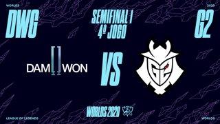 Mundial 2020: Semifinal 1 | DAMWON Gaming x G2 Esports (4º Jogo)