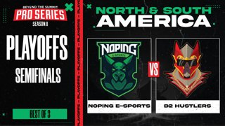 NoPing vs D2 Hustlers Game 2 - BTS Pro Series 8 SEA: Playoffs w/ Ares & Danog