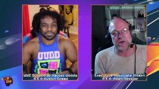 Developer Spotlight | Neil Jones Aerial_Knight's Never Yield w/Xavier Woods AKA Austin Creed and Adam Sessler!