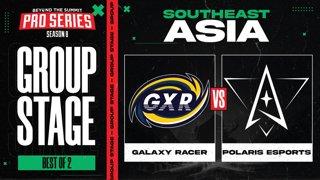 Galaxy Racer vs Polaris Game 1 - BTS Pro Series 8 SEA: Group Stage w/ Ares & Danog