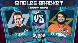 SFAT vs FatGoku - Singles Bracket: Losers' Round 1 - Smash Summit 10 | Fox vs Fox