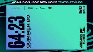 Week 3 Day 2 | LEC Summer Split (2020)