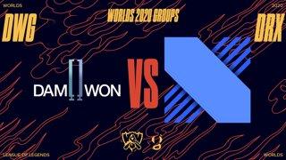 WORLDS 1/4 de finale - DWG vs DRX - Bo5